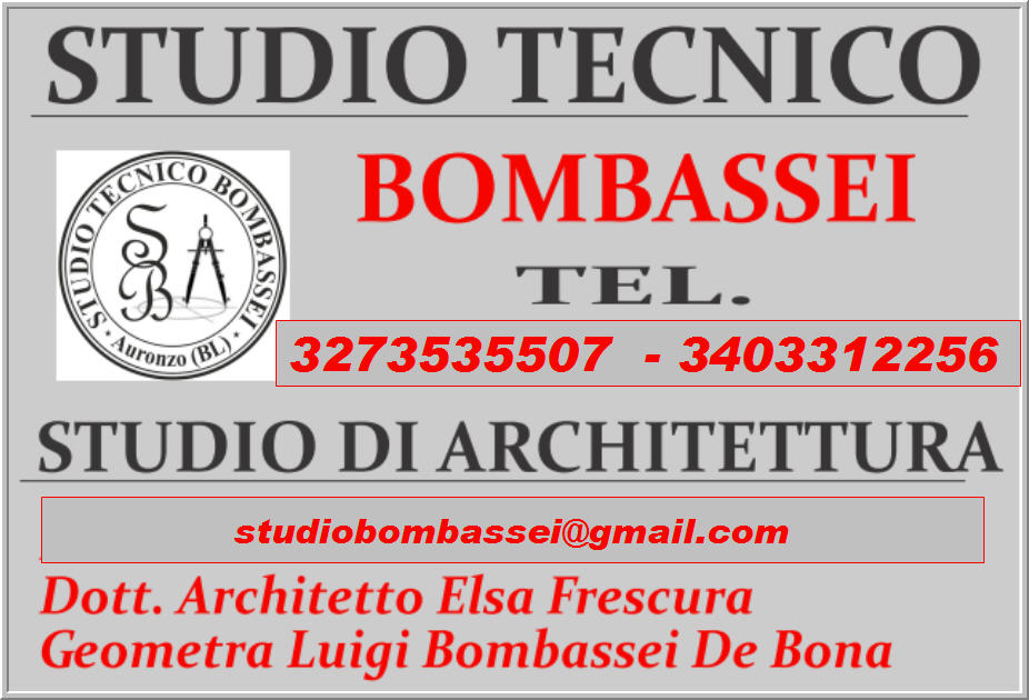 Architetto geometra perito Studio tecnico Ingegneria Architettura cadore Cortina D'Ampezzo Belluno
