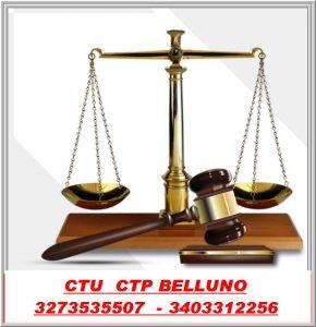 CTU CTP Consulenze Tecniche di Ufficio e di parte Tribunale di Belluno