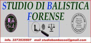perito balistico balistica forense italia armi munizioni esplosivi