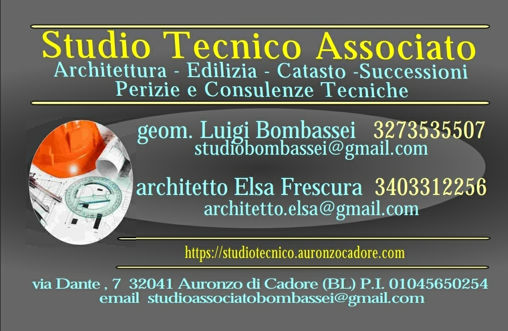 Architetto geometra pieve di cadore Belluno Cortina D'Ampezzo Studio tecnico